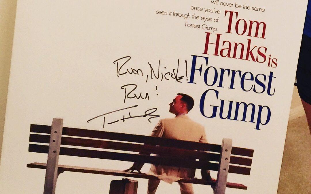 "Tom Hanks sends a message: ""Run, Nicole! Run!"""